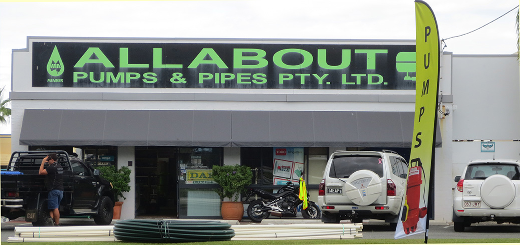Pumps for sale on the Gold Coast