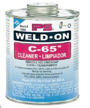 IPS Weld-On C-65 Cleaner Image