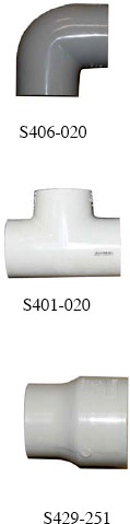 Spears Schedule 40 PVC Fittings Image