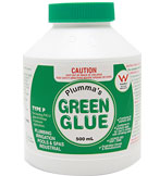 Plumma's GREEN GLUE Solvent Cement • 250ml Image