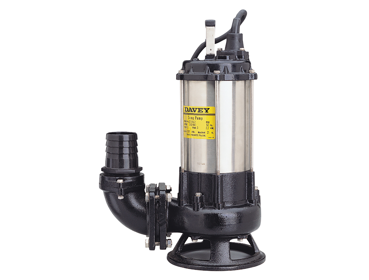 Davey Submersible Cutter & Shredder Pump Image