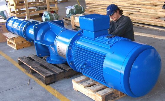 Industrial Pump Installation