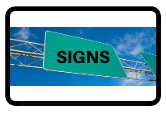 signs to communicate information